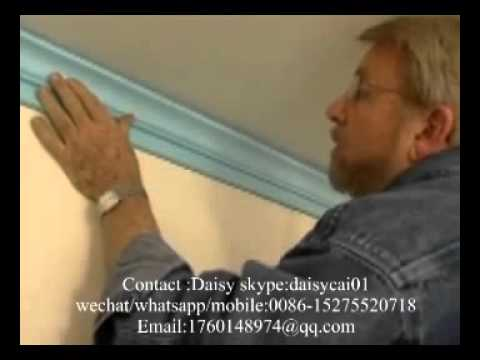 how to install decoration ceiling cornice