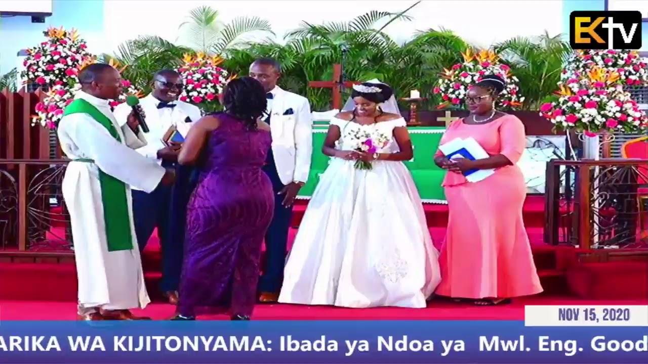 Download KKKT USHARIKA WA KIJITONYAMA: Ibada ya Ndoa ya  Mwl. Eng. Goodluck & Tabitha   NOV 15, 2020