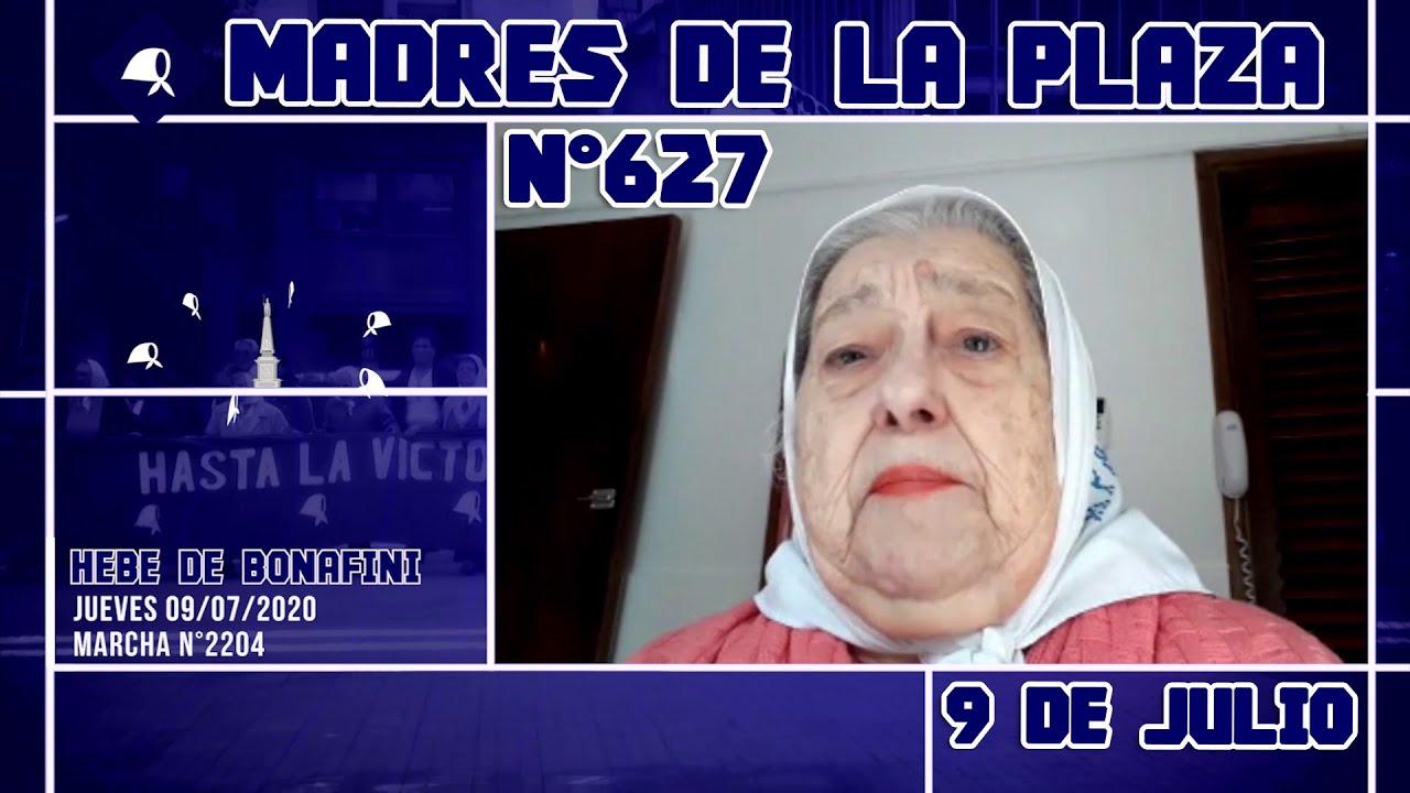 Madres de la Plaza N°627 - Marcha N°2204 Jueves 09 07 2020