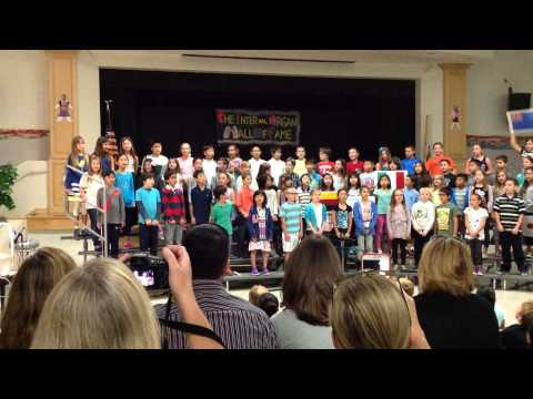 2015 Music Recital at Pico Canyon Elementary School 3rd grade