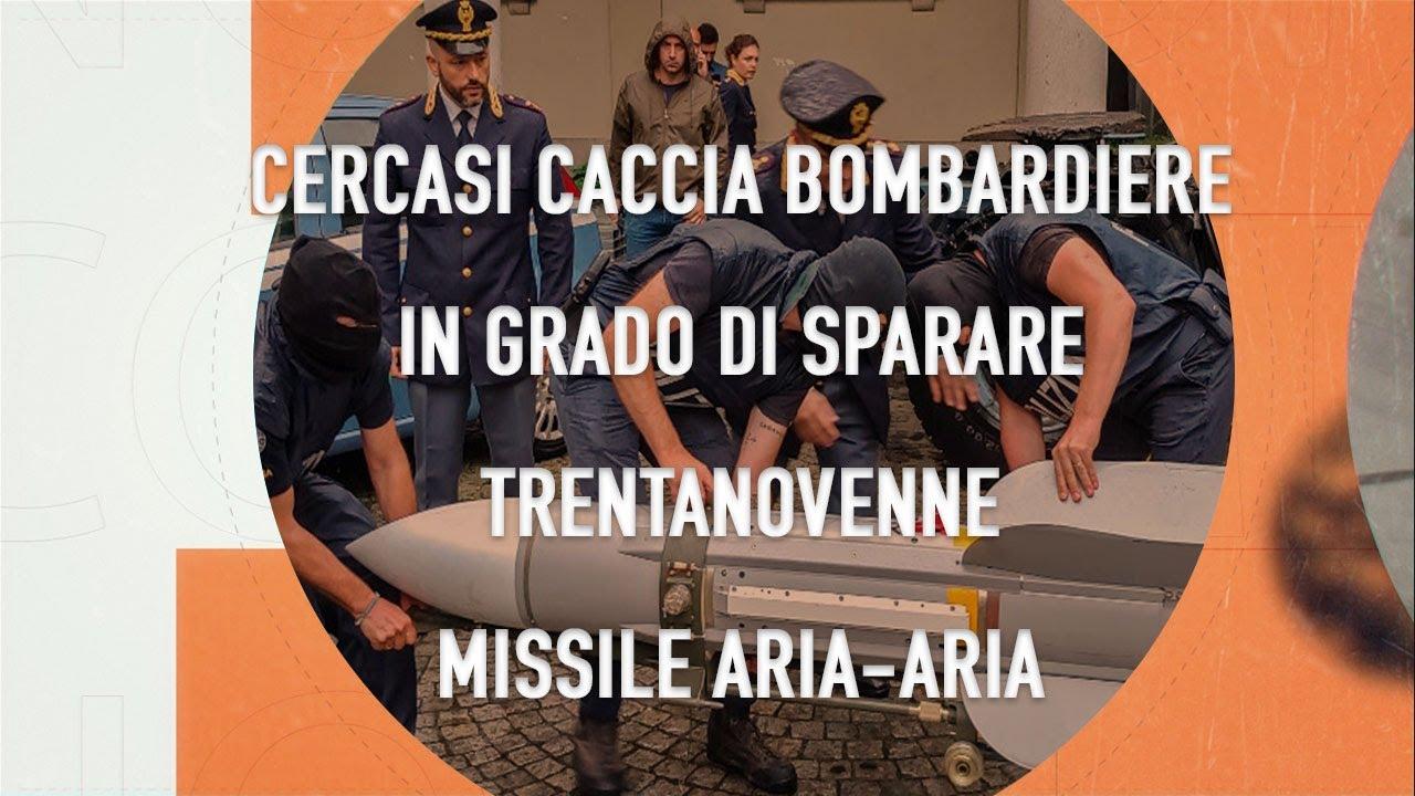 No comment 17.07.19 Cercasi caccia bombardiere in grado di sparare trentanovenne missile aria aria