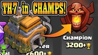TH7 IN CHAMPS LEAGUE! - Push That Rush Ep.18 - Clash of Clans