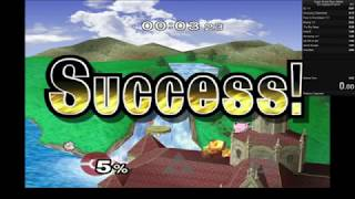 Event 3 Speedrun PB 0:03:23 - Super Smash Bros Melee