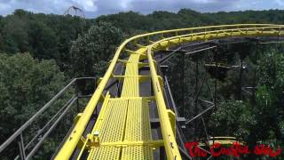 Loch Ness Monster Front Seat HD POV roller coaster - Busch Gardens Williamsburg