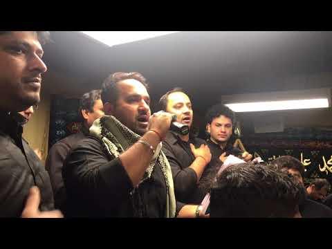 Arbayeen 2017 Nohay Khan Mir Johan Ali Recting Karnay Ko Aai Hai Behan Anjuman e Masomeen - Chicago