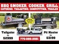 How to Season a BBQ Grill Smoker Trailer Food Truck for Sale Rentals