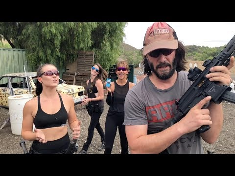 Keanu Reeves MPX run with Halle Berry
