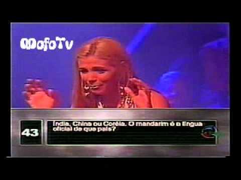 Carla Perez na Roleta Russa 2003  Tv Record