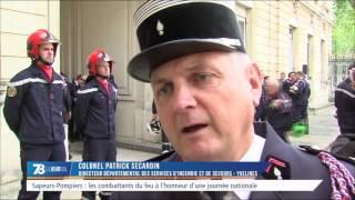 Sapeurs-pompiers : les combattants du feu à l'honneur d'une journée nationale