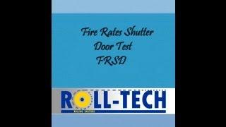 Fire Rated Shutter Door FRSD