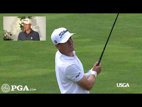Justin Thomas Breaks Down His 3-wood Bomb That Made US Open History