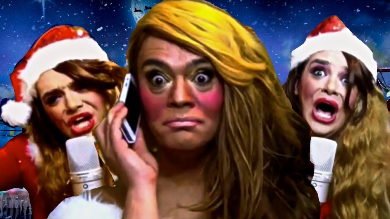 SHOCKING - 'Mariah Carey' PARODY - Mic Feed Rockefeller Centre ...