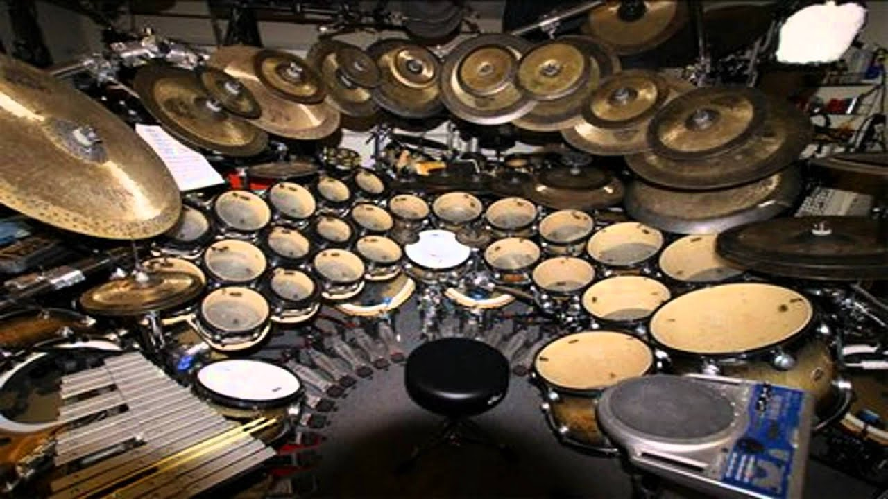 Neil Peart Drum Solo NEW MOUSE PARODY