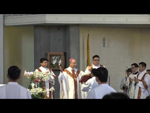 Mass of Ordination to the Deaconate - St. Pius, Redwood City - 2017
