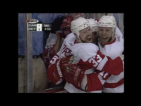 2002 Playoffs: Detroit Red Wings Goals