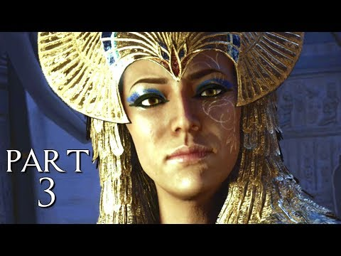 "ASSASSIN'S CREED ORIGINS CURSE OF THE PHARAOHS ""ISIDORA"" - Walkthrough Gameplay Part 3 (AC Origins)"