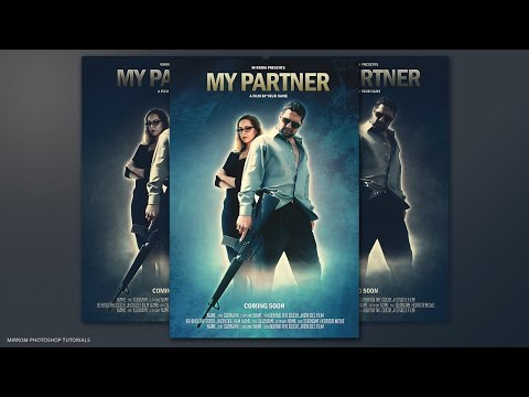 Movie Poster Photoshop Tutorial - My Partner