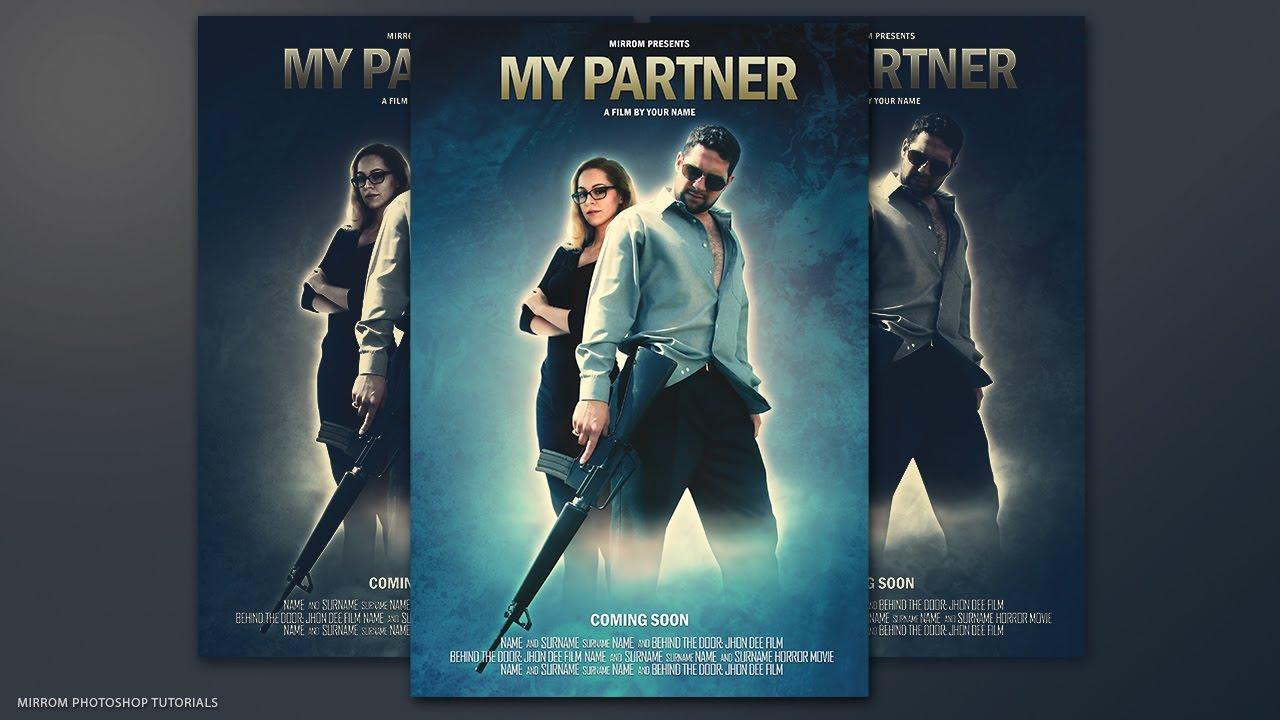 Movie Poster Photoshop Tutorial - My Partner