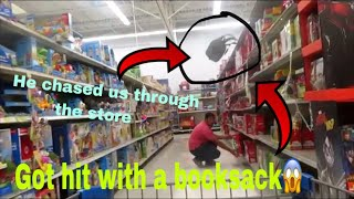Throwing things from the next aisle in stores 🏃🏽♂️🏃🏽♂️part 1