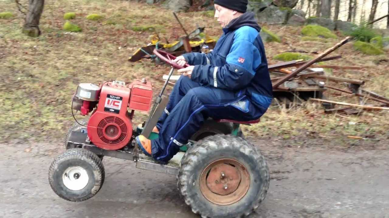 Home Made Tractor Clutch : Home made tractor youtube