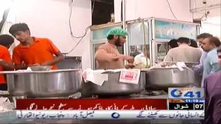جھنگ   چھٹی کر روز شہریوں کا ناشتے کی دکانوں پر رش