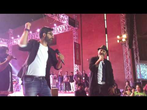 Hum Rahe Ya Na Rahe Kal   Sachin Jigar live during Chaos 2017 at IIM Ahmedabad