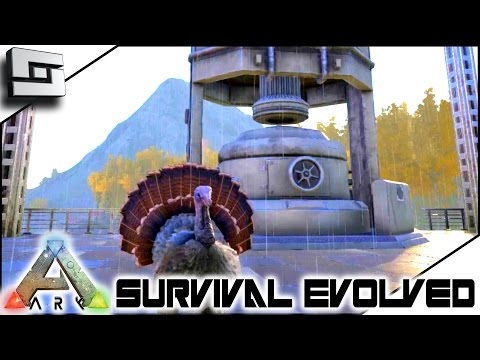 ARK: Survival Evolved - THANKSGIVING TURKEY AND INDUSTRIAL FORGE!! S2E82 ( Gameplay )