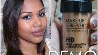 MUFE HD foundation Application Demo Thumbnail