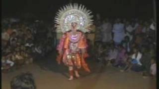 chhou dance in purulia