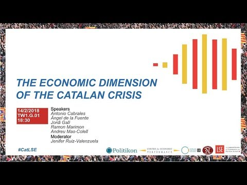 CatLSE;  The Economic Dimension of the Catalan Crisis
