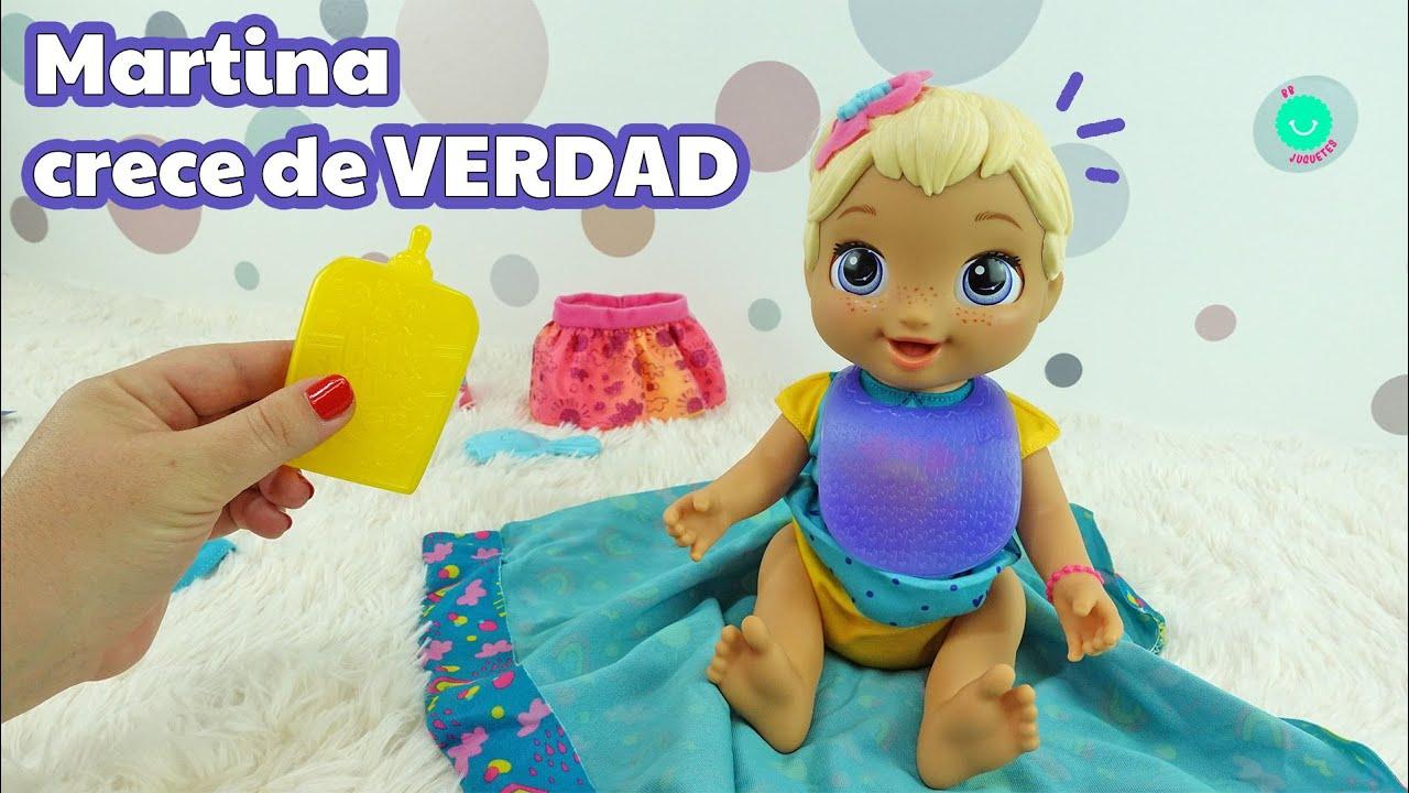 Baby Alive Martina ¡CRECE de VERDAD!