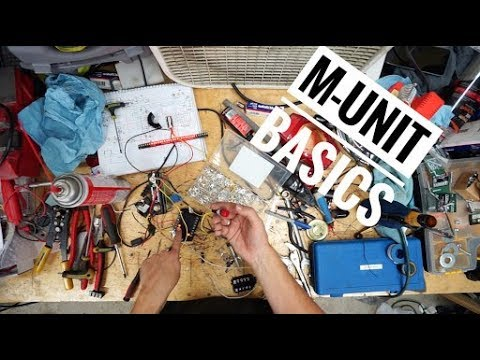 How to wire a Motogadget M-Unit - YouTube