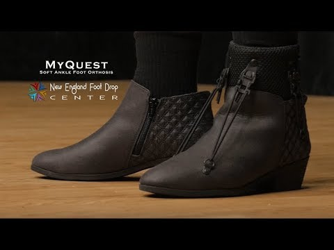 MyQuest Soft AFO for Foot Drop Tutorial