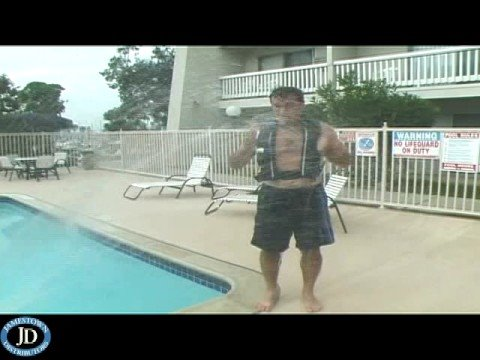 Stearns Ultra Inflatable Life Jacket Demonstration