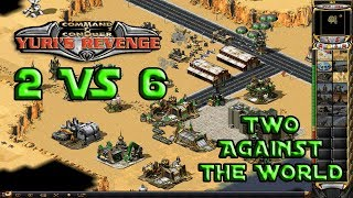 Red Alert 2 - Two Against the World - 6 Brutals vs 2