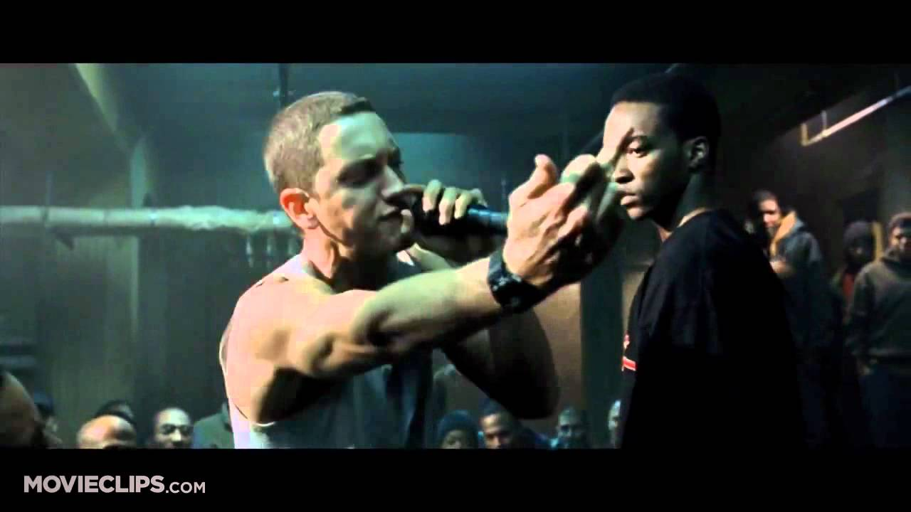 8 Mile (Final 3 rap battles) - video dailymotion