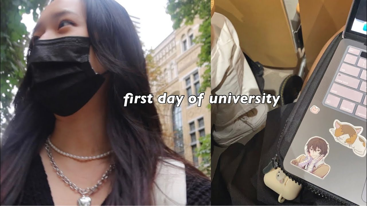 Download first day of university grwm + vlog ( & uni reveal)
