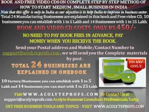 Nri Business Idea To Start Business In India And Indian Small Scale Business For Women Wmv