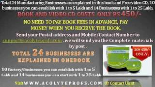NRI business idea to start business in India and Indian small scale business for women.wmv