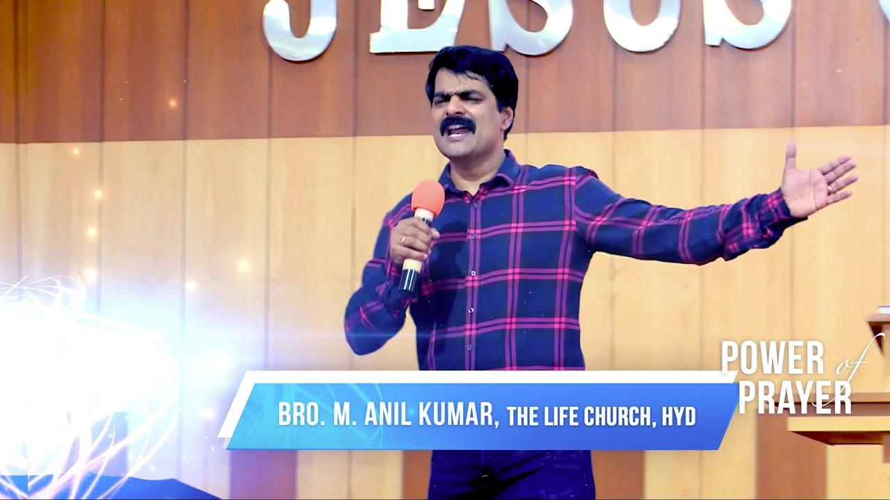 Bro Anil Kumar - Faith Living Full Message - The Life Church 28.08.2016