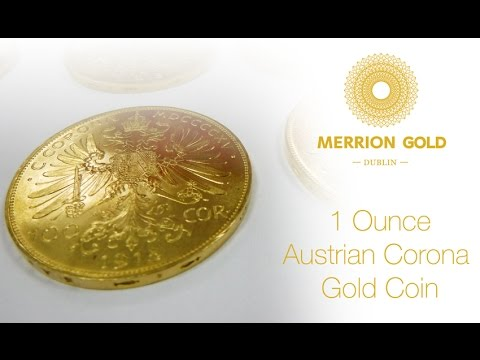 1oz Gold Austrian Corona Coin