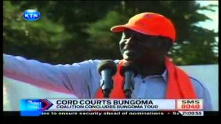 News: Cord courts Bungoma