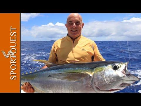 Big Game Fishing At Rodrigues Island, Mauritius 🐟