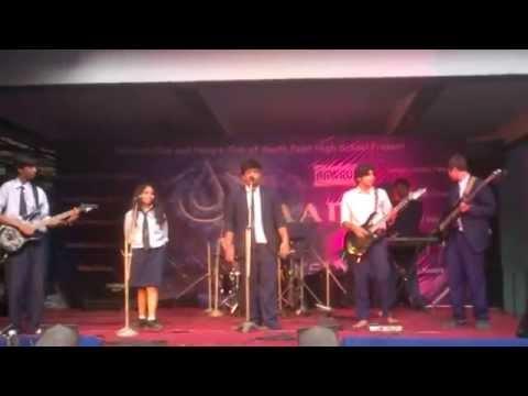 South Point High School Band performing at Udaan XIX,Vrrikshya VII