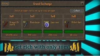 OSRS How to flip with under 10m!