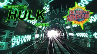 2019 The Incredible Hulk Coaster On Ride Front Seat HD POV Universal's Islands of Adventure Orlando