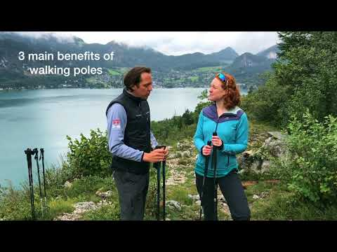 3 benefits of walking poles
