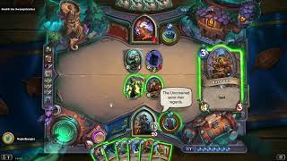 Hearthstone all bosses intro and response plus hagatha introduction of | Witchwood Monster Hunt