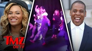 Beyonce and Jay-Z Do The Electric Slide | TMZ TV