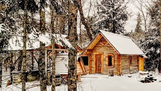 This is It! My New Off Grid Log Cabin in the Wilderness | The End and The Beginning